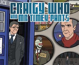 Craigy Who and Mr Timey Pants: Kickstarter Comic