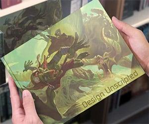 Design Unscripted Art Book on Kickstarter
