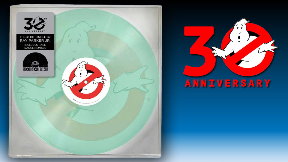 Ghostbusters 30th Anniversary Vinyl Record