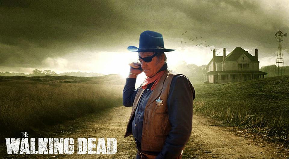 Rooster Cogburn Meets The Walking Dead
