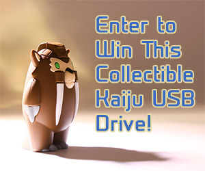 Collectible Kaiju USB Drives: Kickstarter & Giveaway