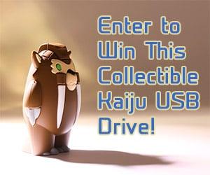 Collectible Kaiju USB Drives: Kickstarter & Giveaway