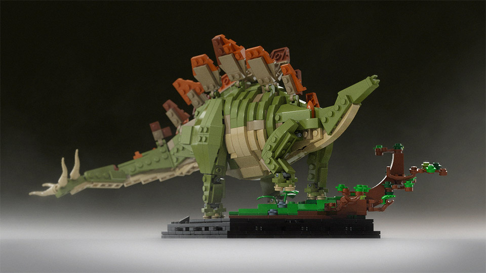 Support these jurassic dinosaurs on lego cuusoo mightymega - Lego dinosaures ...