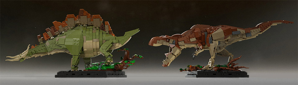 Support These Jurassic Dinosaurs on LEGO CUUSOO