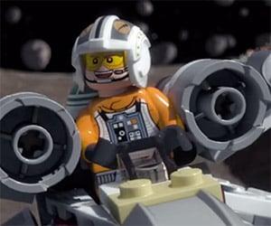 LEGO Star Wars: Luke Enters a TIE Fighter Race