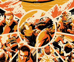Two Amazing Star Trek Posters from Mondo