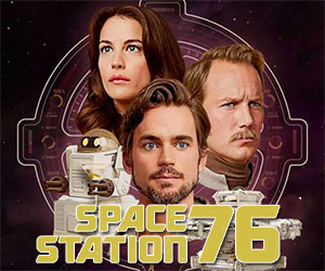 Space Station 76: A 70s-Style Sci-Fi Dramedy