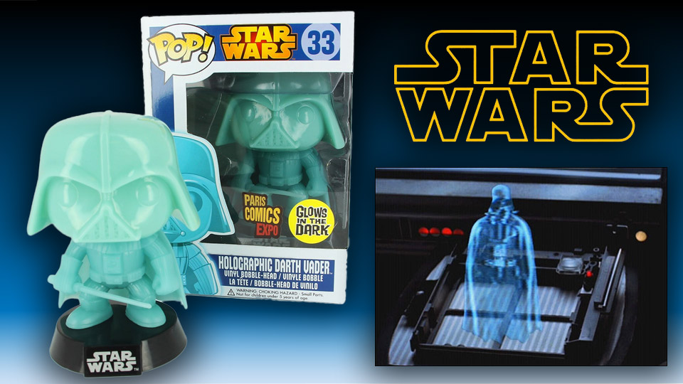 Funko Glow-in-the-Dark Holographic Darth Vader