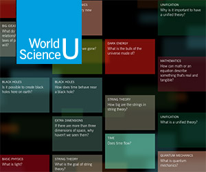 The Amazing World Science U is Now Live