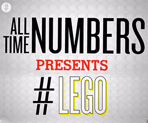The Amazing World of LEGO in Numbers