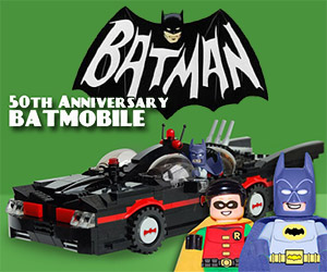 Support this 1960s Batmobile on LEGO CUUSOO