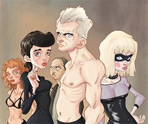 Blade Runner: The Replicants Art