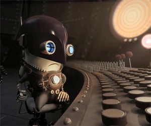 Bulb: A Tiny Man Tries to Save His World