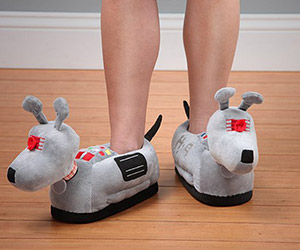 K-9 Slippers: Perfect for a Visit to The Doctor