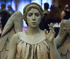 Doctor Who Custom Weeping Angel Costume