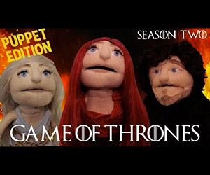 Game of Thrones Season 2 Recap: The Puppet Edition