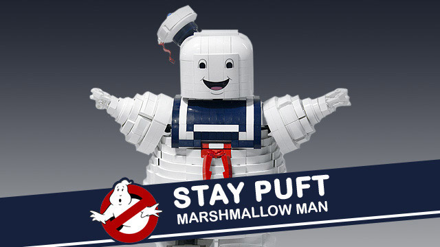 Lego Ghostbusters Stay Puft Marshmallow Man Mightymega