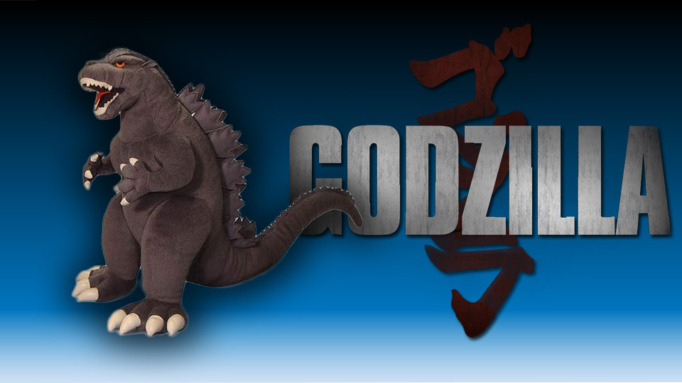 Godzilla 15-Inch Plush Emerges from the Toy Box