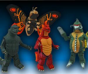 Classic Godzilla Minimates Series
