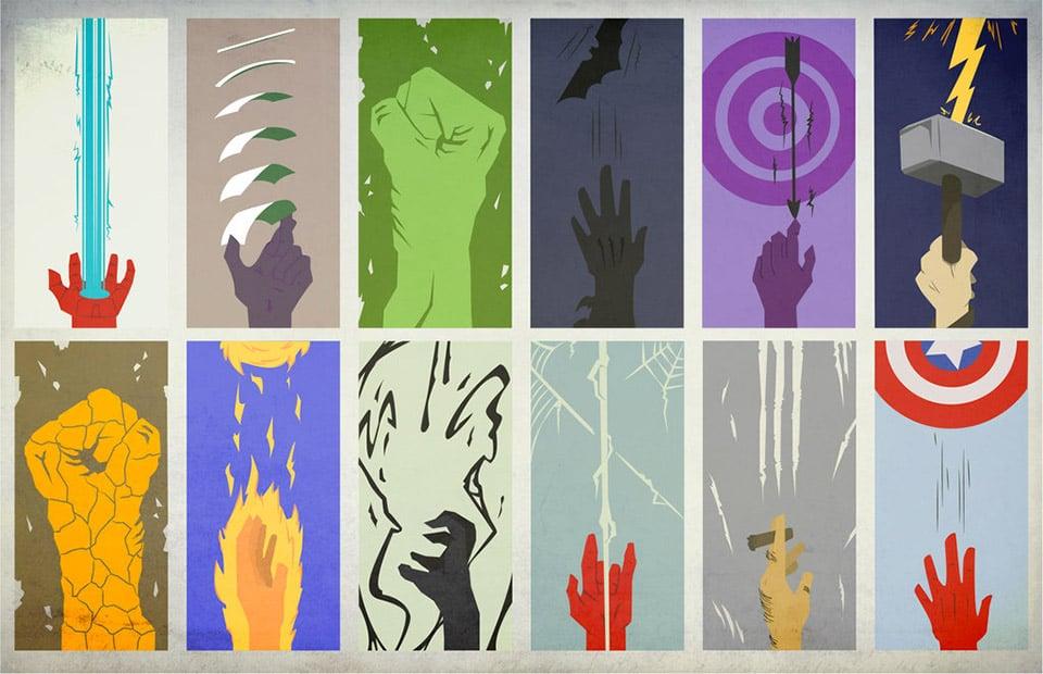 Hands of Heroes Poster Art