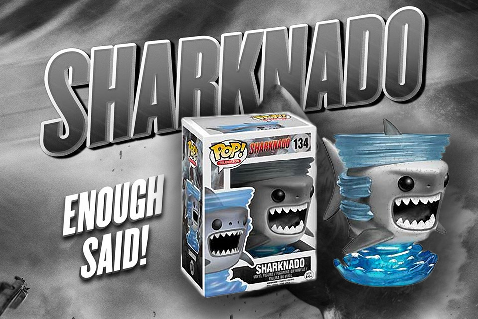 Epic Sharknado Funko Pop Vinyl