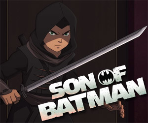 Son of Batman: Damien Wayne Battles Ubu