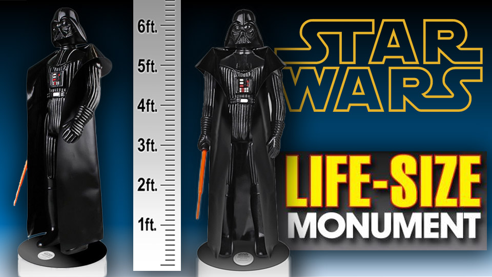 Star Wars: Life Size Darth Vader Monument
