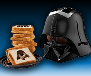 Join the Dark Side: Darth Vader Toaster