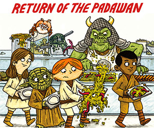 New Jeffrey Brown Title: Star Wars: Jedi Academy #2