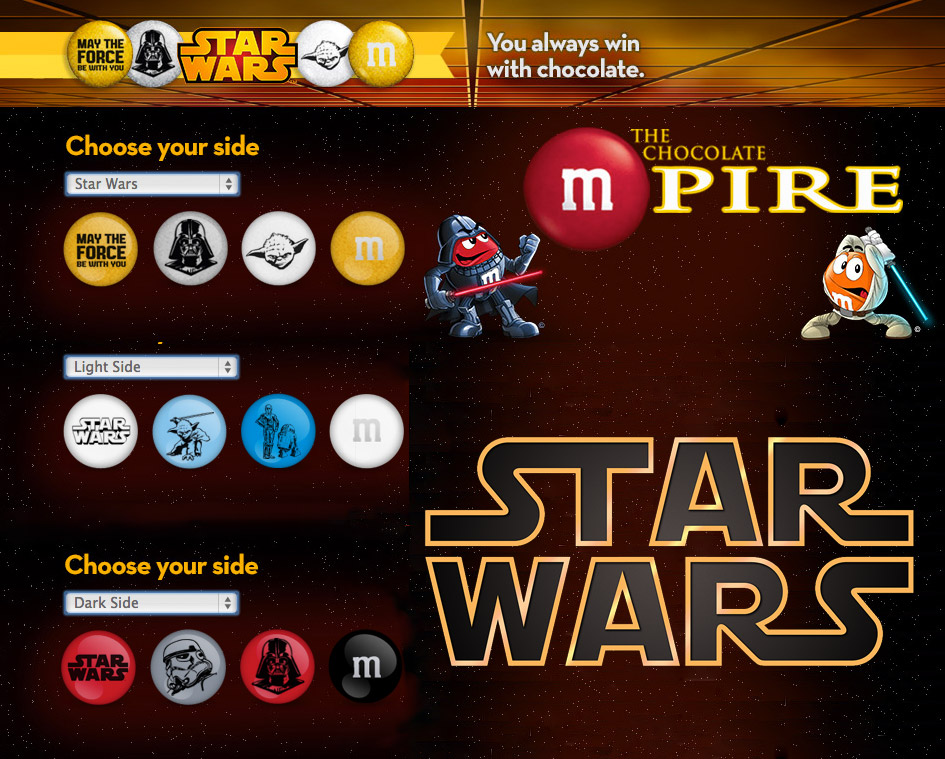 Star Wars M&Ms Available Online