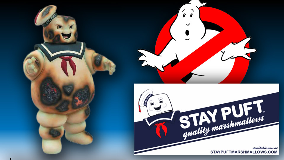 Stay Puft Marshmallow Man Bank – Burnt Edition