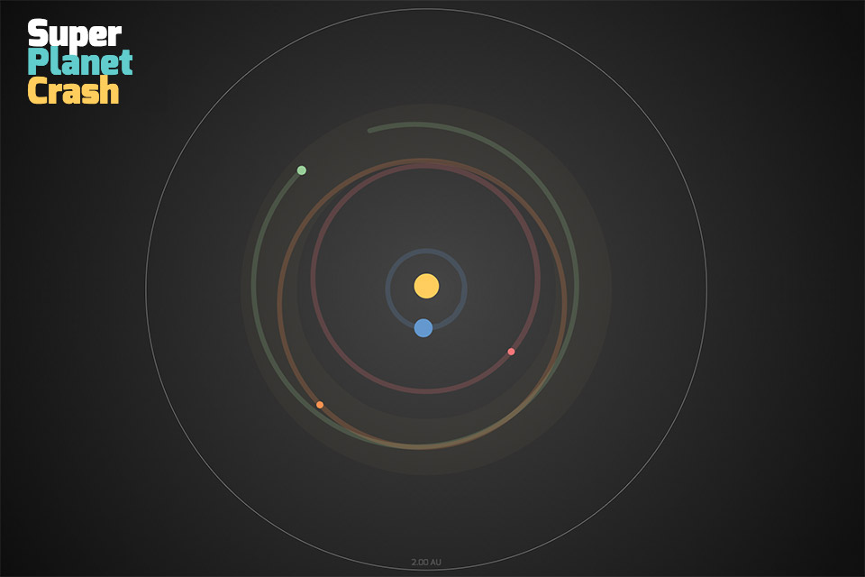 Super Planet Crash: Create Your Own Solar System