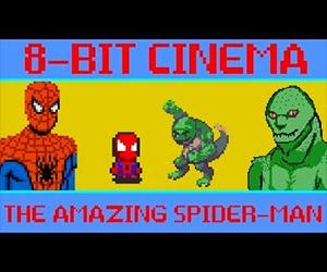 The Amazing Spider-Man: 8 Bit Cinema