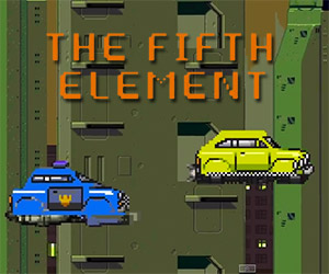 The Fifth Element: An 8-Bit Pixelated Version