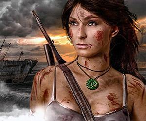 Amazing Lara Croft Tomb Raider Cosplay