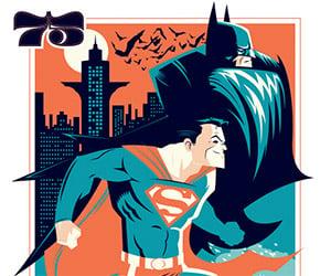 World's Finest 75 Superman/Batman Print