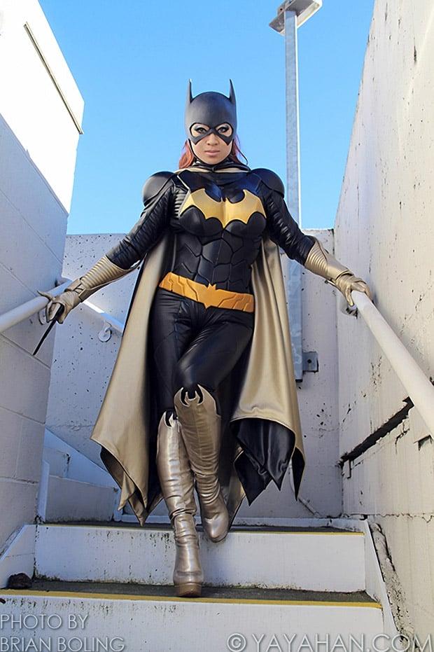 Yaya Han's Amazing Batgirl Cosplay