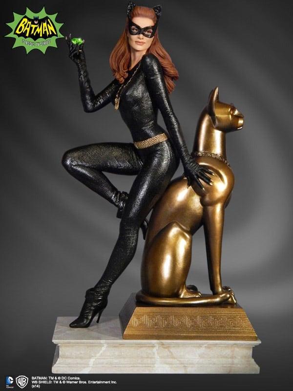 Batman 1966 Julie Newmar Catwoman Statue