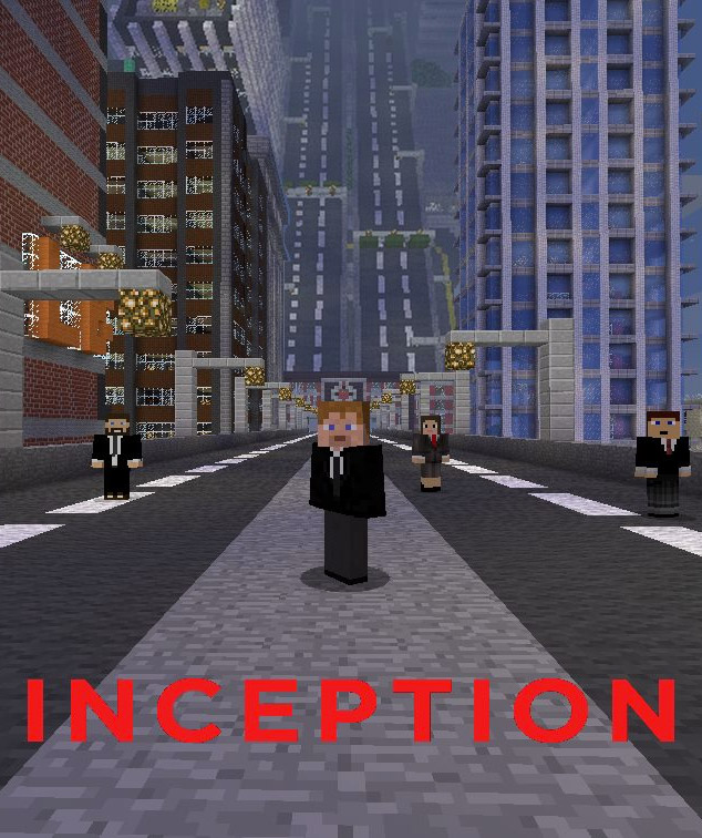 25 Movie Posters Recreated in Minecraft