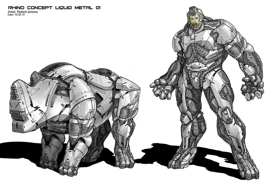 The Amazing Spider-Man 2: Rhino Concepts