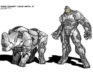 The Amazing Spider-Man 2: Rhino Concepts