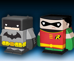 DC Comics Cubed Vinyl Collectible Figures