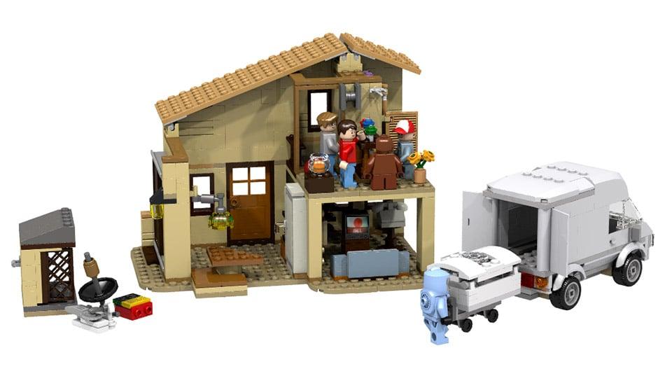 LEGO E.T. The Extra-Terrestrial: LEGO IDEAS