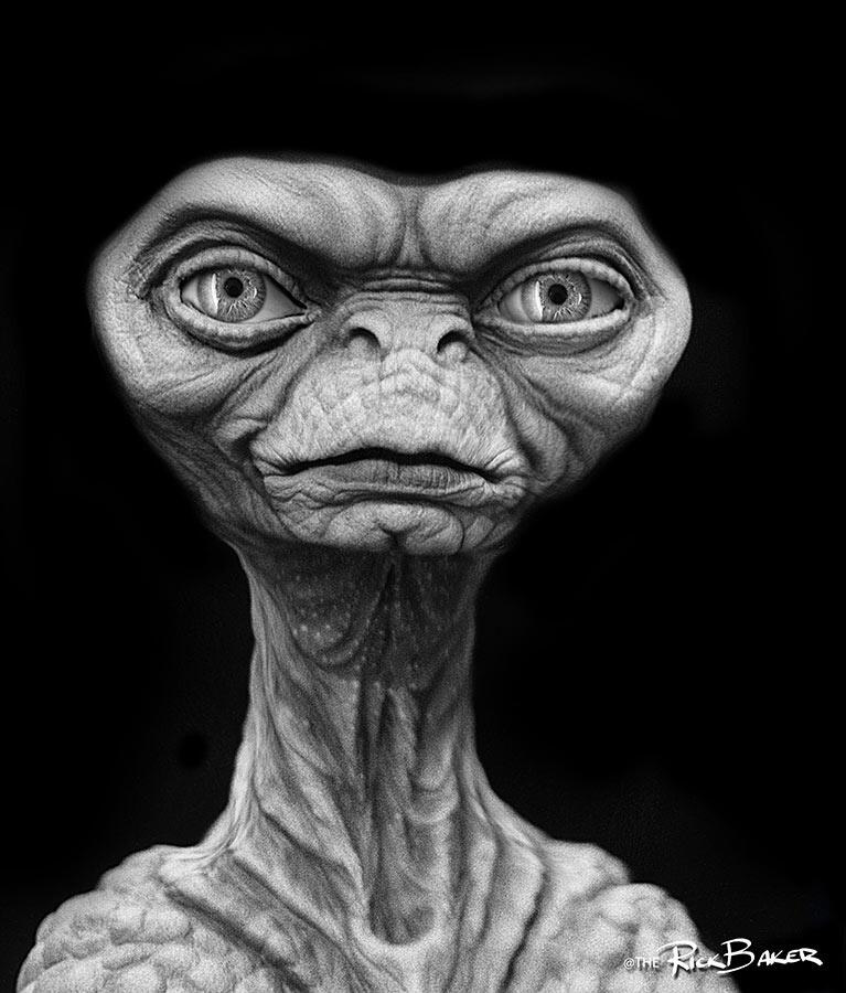 Early Designs for E.T. Will Keep You Up at Night