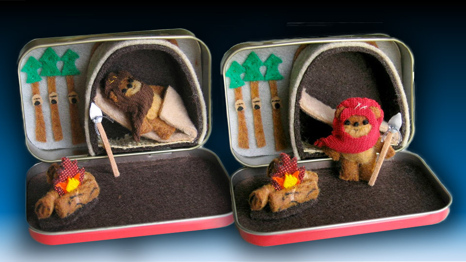 Portable Star Wars Ewok Playset