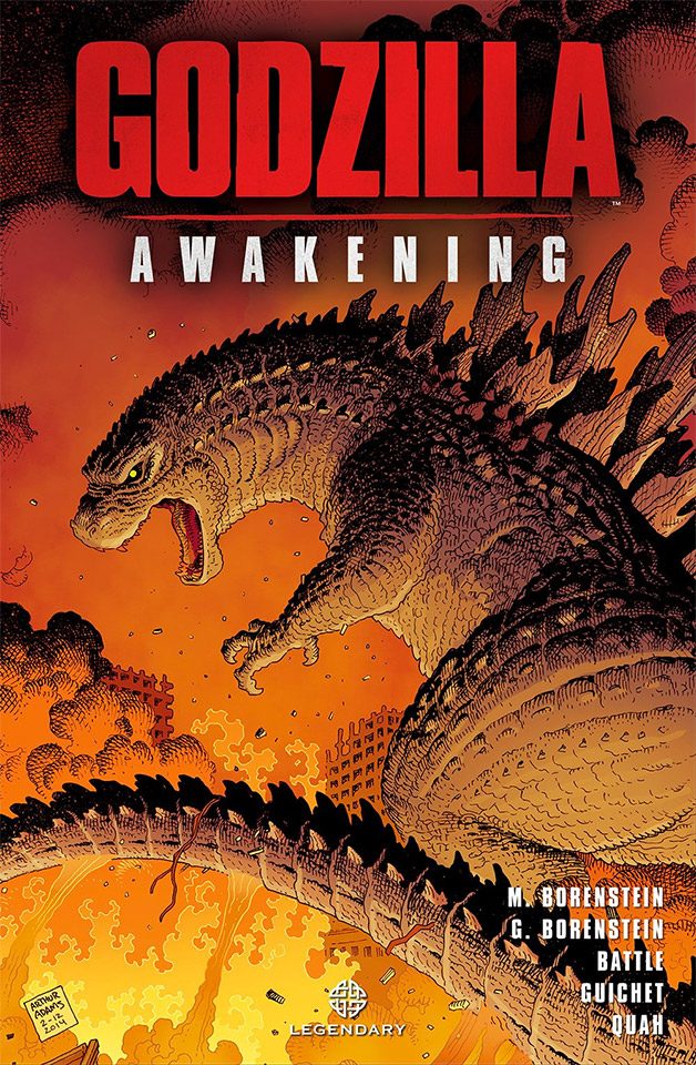 Godzilla: Awakening Prequel Novel Pre-Order Available