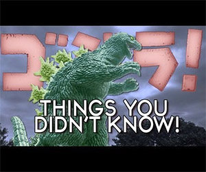 7 Things You Didn't Know About Godzilla