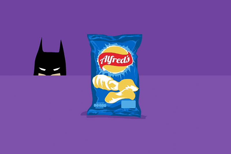 Heroes vs. Potato Chips: Animated Goodies