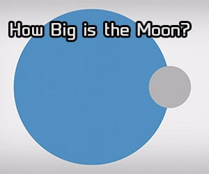 That's No Small Moon. How Big is it?