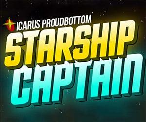 Icarus Proudbottom: Starship Captain Kickstarter Game